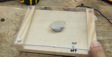 agitador magnetico casero materiales