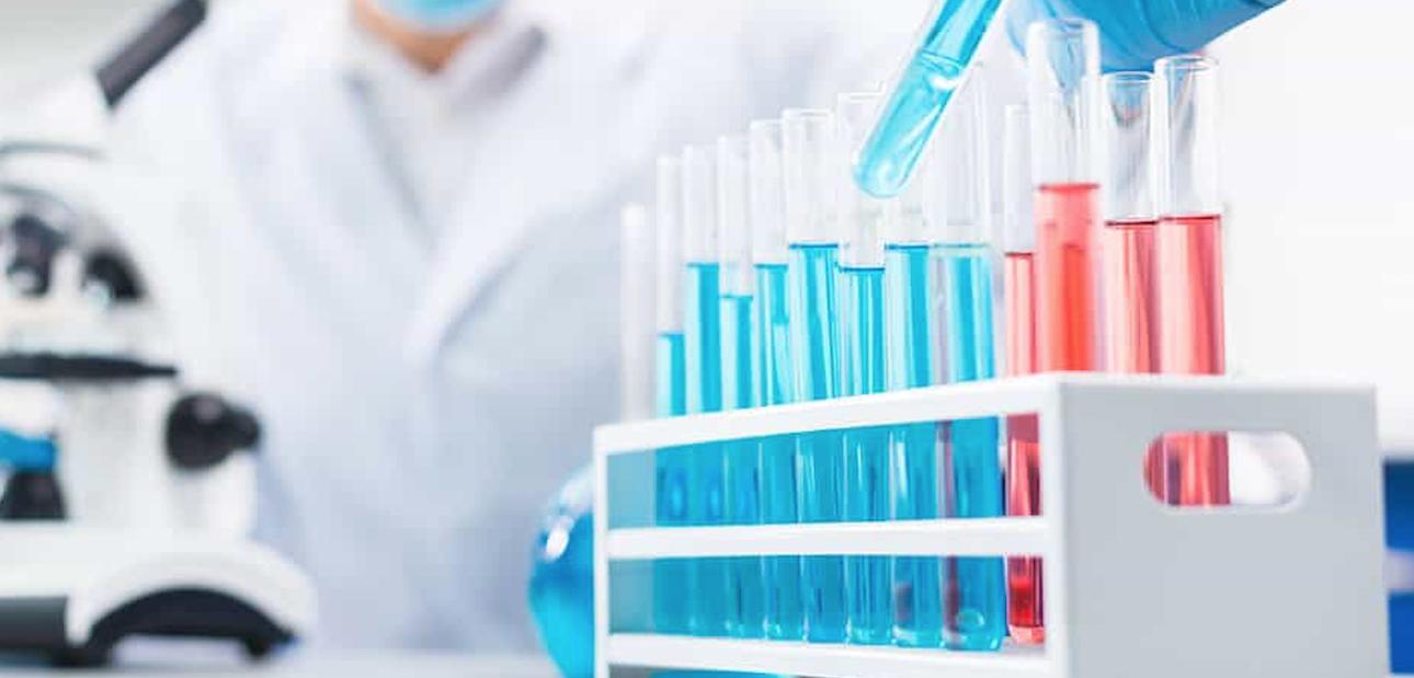 mezcla de laboratorio